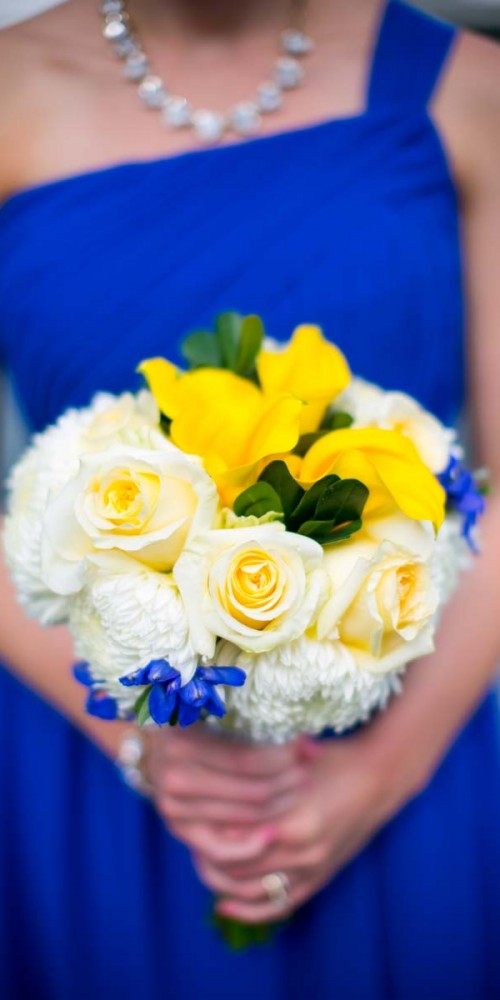 Yellow Wedding Flower Bouquets
