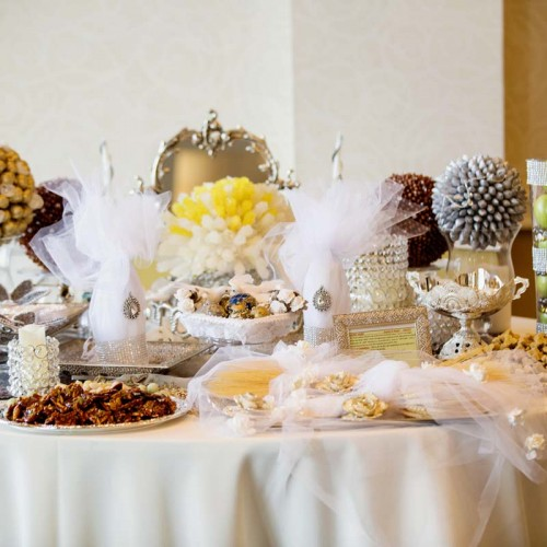 Fancy Weddy Candy Bar
