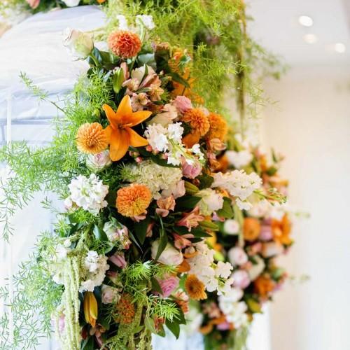 Amazing Wedding Ceremony Flowers