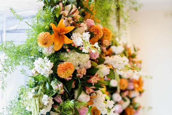 Amazing Wedding Ceremony Flowers