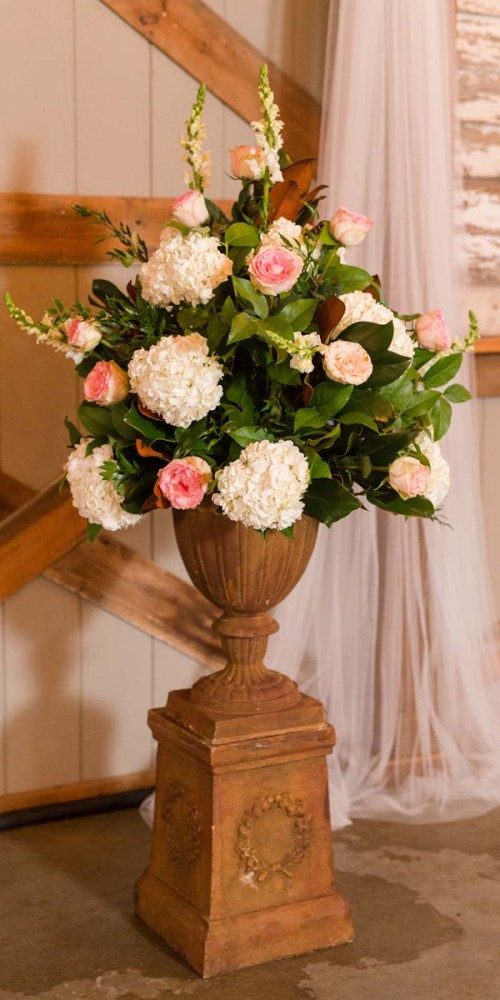 Richmond Wedding Flowers for Ceremony