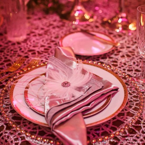 Gold Wedding Table Settings