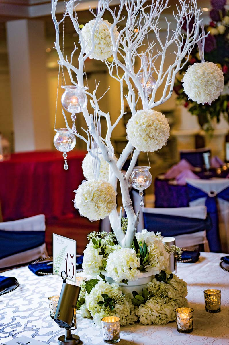 Large Wedding Floral Centerpieces
