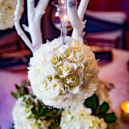 Virginia Beach White Wedding Flowers