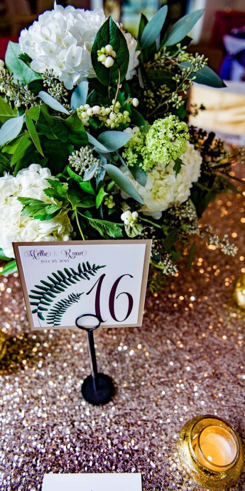 Glamorous Wedding Table Linens