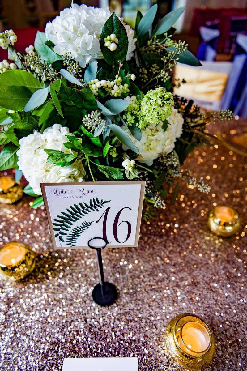Glamorous Wedding Table Linens