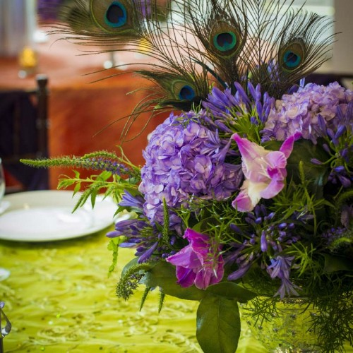 Peacock Wedding Elements