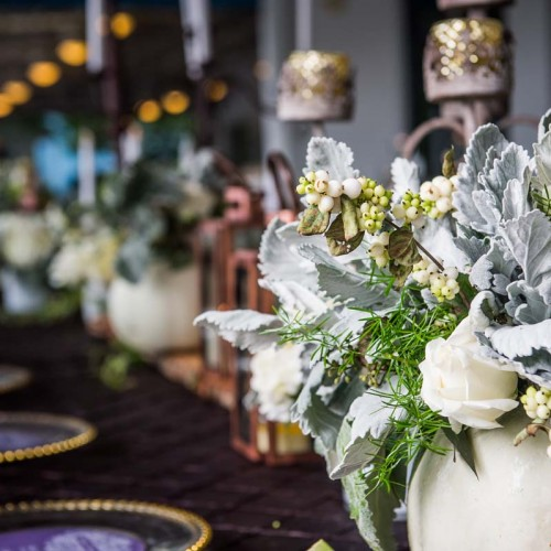 Fall Wedding Table Design