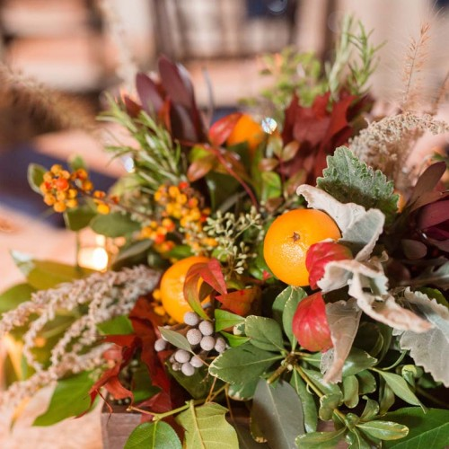 Fruit Wedding Flowers