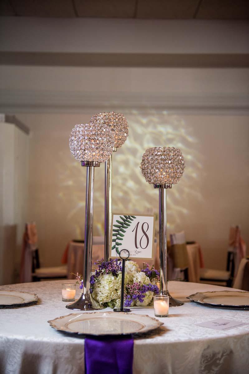 Crystal Wedding Centerpieces
