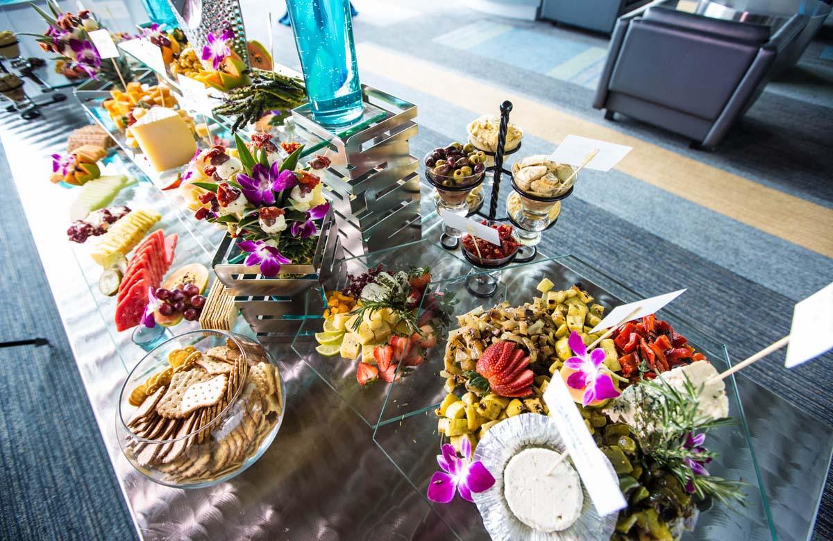 Wedding Buffet Flowers