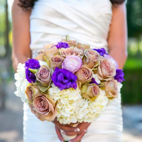 Black Iris Floral Event Wedding Bouquets