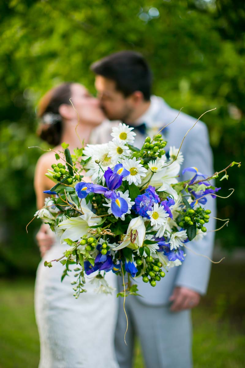Wedding Flower with Irises