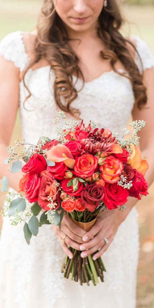 Autumn Wedding Bridal Bouquets