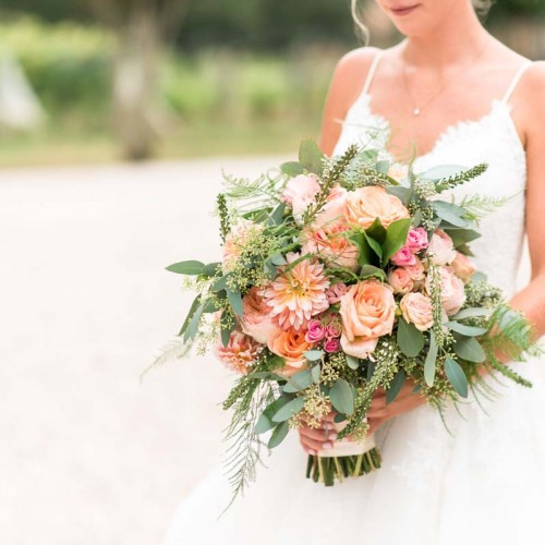 Large Bride Wedding Bouquets