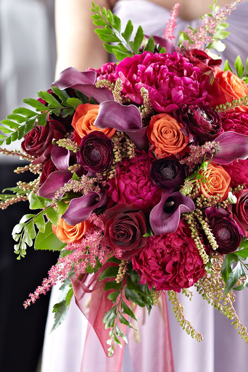 Pink Wedding Bridal Bouquet