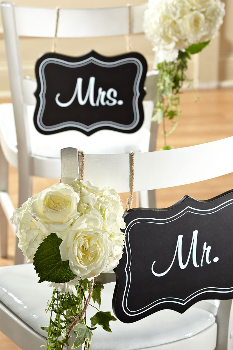 Mr and Mrs Wedding Decor