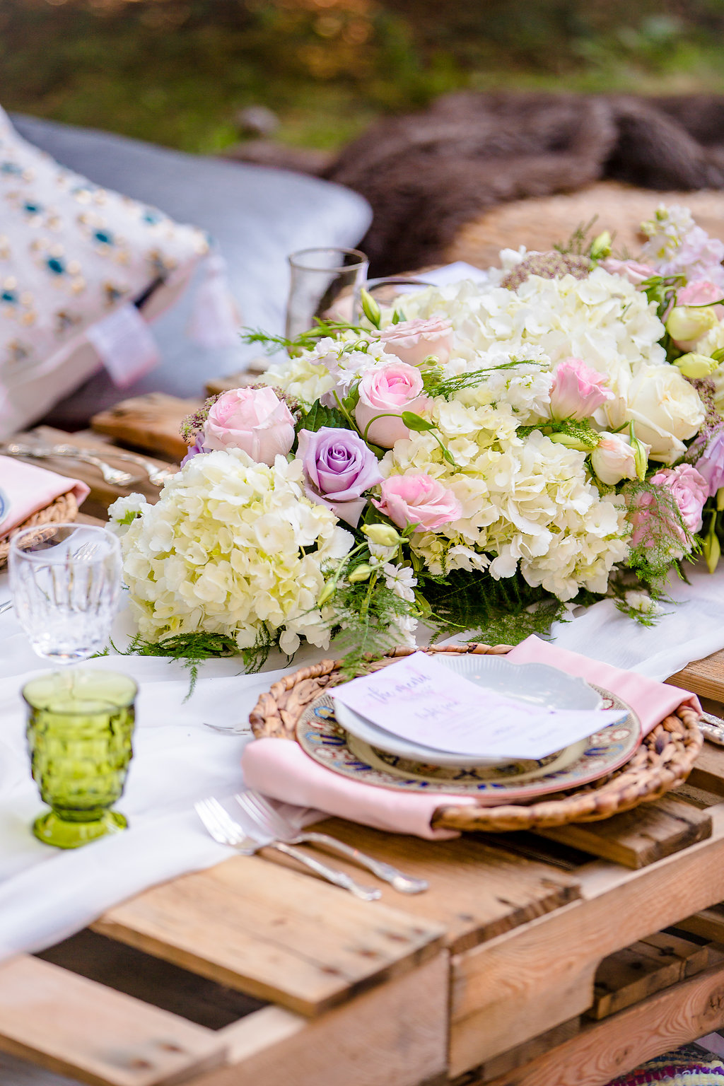 Boho Chic Dinner Party Decor