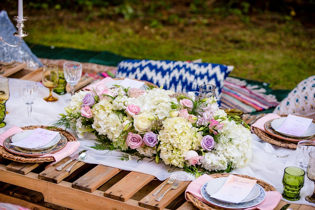 Bohemian Dinner Party Decor