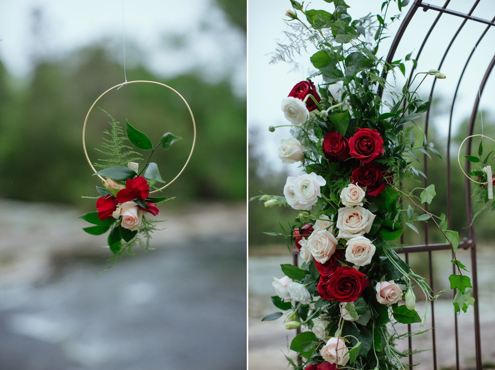 4-Red-Rose-Aisle-Decoration