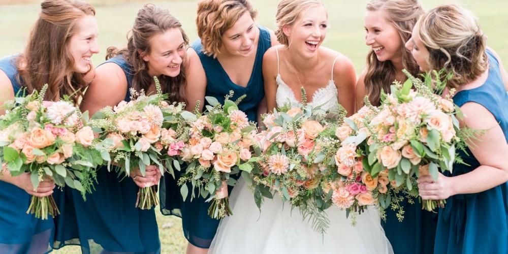 Pretty Bridesmaid wedding bouquets
