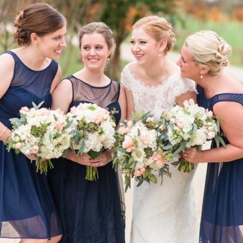 Pink Wedding Bouquet Ideas