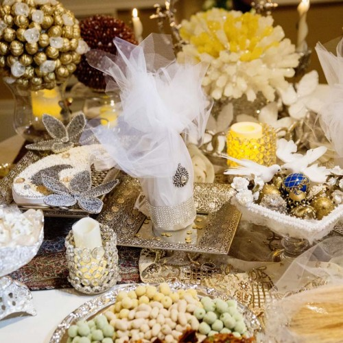 Unique Wedding Candy Bar