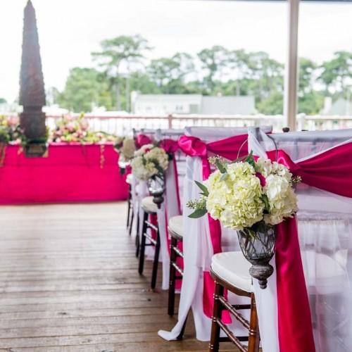 Pink Wedding Ceremony