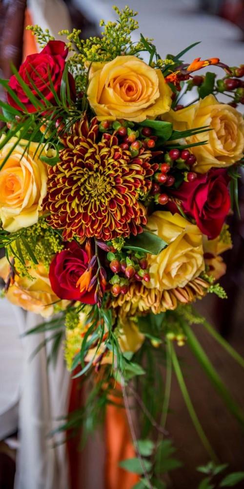 Fall Wedding Flower Colors