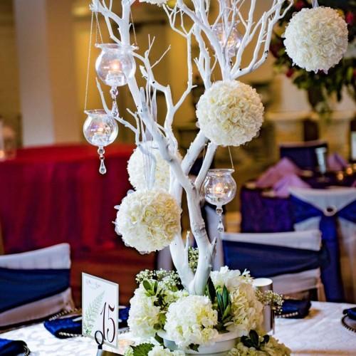 Large Wedding Floral Centerpieces