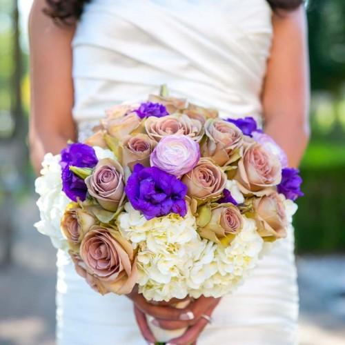 Black Iris Floral Event Wedding Bouquets