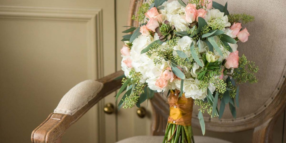 Soft Colored Wedding Flowers