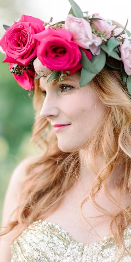Bride Floral Crown