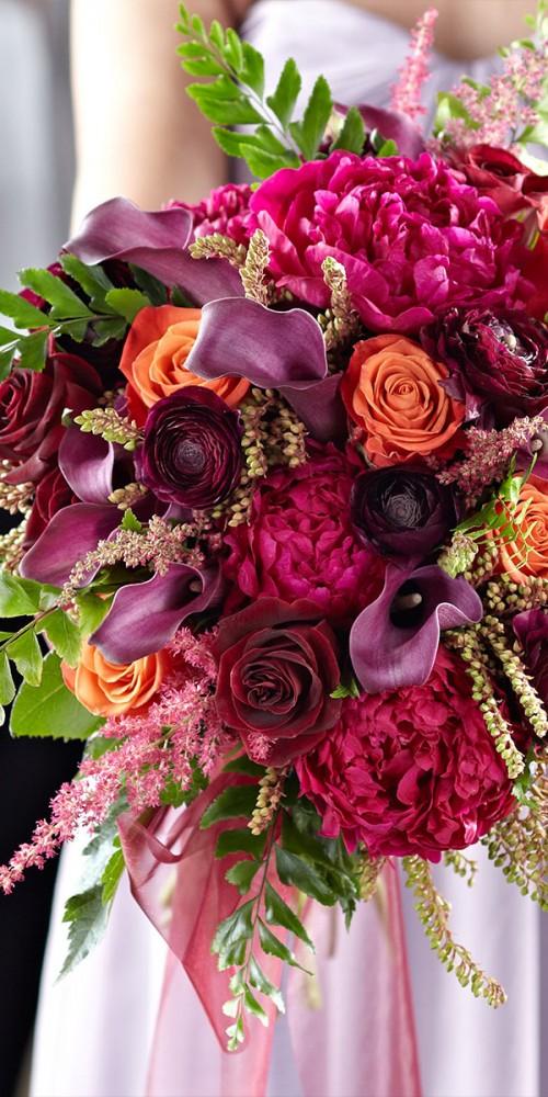 Pink Wedding Bridal Bouquet