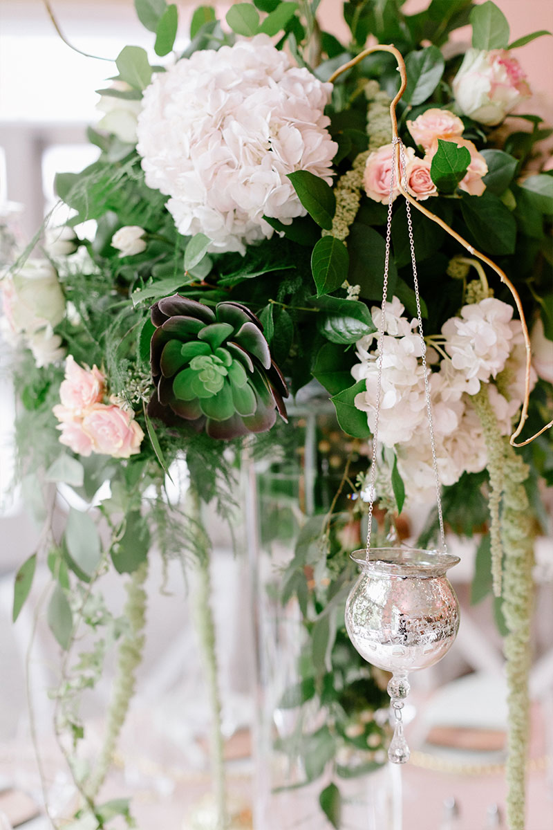 Blush Pink Wedding Flowers