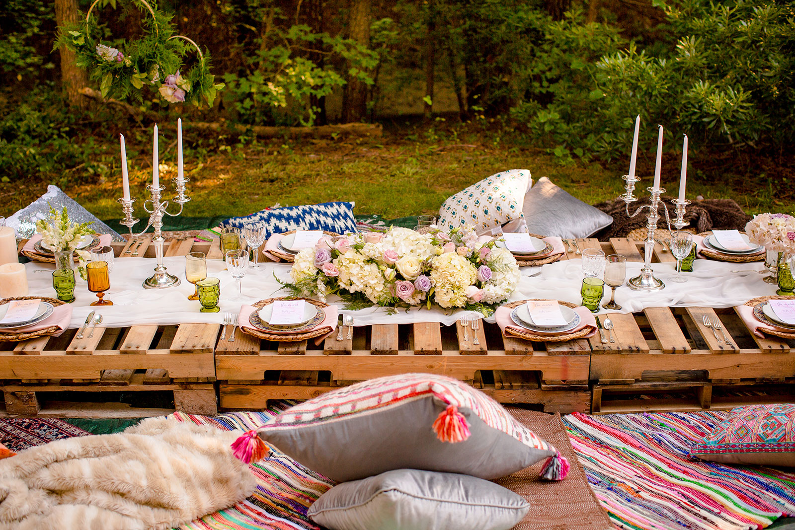 Bohemian Dinner Party Inspiration